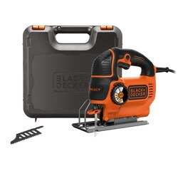 Black and Decker - Wyrzynarka Autoselect 620W 90mm - KS901SEK