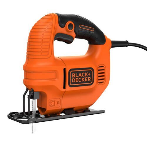 Black and Decker - Kompaktowa wyrzynarka 400W 65mm - KS501